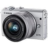 キヤノン ミラーレス一眼デジタルカメラ EOS M100 EF-M15-45 IS STM レンズキット [ホワイト]