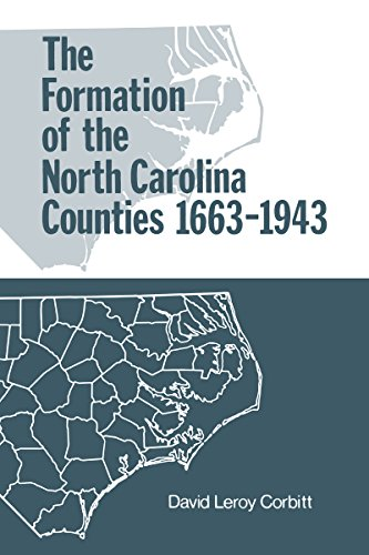 Download The Formation of the North Carolina Counties, 1663-1943 086526032X