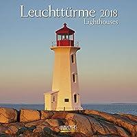 Leuchttuerme 2018 Broschuerenkalender: Mit Ferienterminen