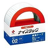 ニチバン 両面テープ ナイスタック 一般タイプ 50mm NW-50 大巻