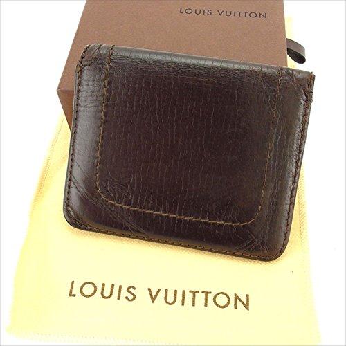 ルイヴィトン Louis Vuitton 二つ折り財布 ファスナー メンズ コンパクトウォレット M92575 ユタ 中古 C2321