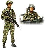 タミヤ 1/16 ワールドフィギュアシリーズ No.16 陸上自衛隊 戦車乗員セット プラモデル 36316