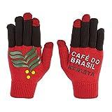 ATHLETA(アスレタ)フィールドニットグローブ 大人用 サッカー フットサル 防寒アクセサリー 手袋 レッド 05190 RED F