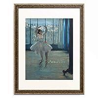 エドガー・ドガ Edgar Degas 「Dancer at the studio. 1875」 額装アート作品