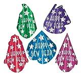 Beistle 88293-50 Midnight Star Hats (50 Pack), Multicolored [並行輸入品]