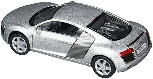 Audi R8 1/36 Silver [並行輸入品]