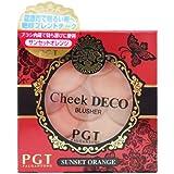 パルガントン チークデコ CD45 サンセットオレンジ 5.5g