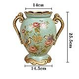上品 田舎風 セラミック花瓶 レトロ インテリア 装飾