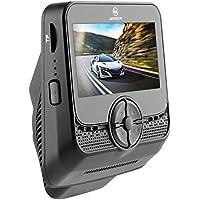 """Muson mb2車ダッシュカム2.4"""" LCD FHD車ダッシュボードカメラDVRレコーダー170°広角ビューレンズ、WDR、内蔵WiFi、ループ録画、G -センサー、ナイトビジョン–ブラック"""