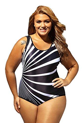 [해외]C-Princess 여성 수영복 모노 키니 여성 수영복 원피스 체형 커버 피트니스 수영 체육관 용 着?せ 스트랩 무늬 큰 사이즈/C-Princess Women Swimsuit Monokini Women`s Swimwear One Piece Body Cover Fitness Wearing for the Gym Swimwear Strap P...