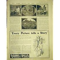 広告 Doans の丸薬腎臓のアフリカのガゼルのサイ 1913 年