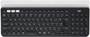 ロジクール ワイヤレスキーボード K780 Bluetooth Unifying ワイヤレス 無線 キーボード windows mac Chrome iOS Android 国内正規品 2年間無償保証