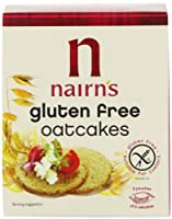 Nairn 's Gluten Free Oatcake 160 g – パックof 6 by Nairn 's