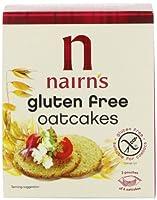 Nairn 's Gluten Free Oatcake 160g–パックof 6by Nairn 's