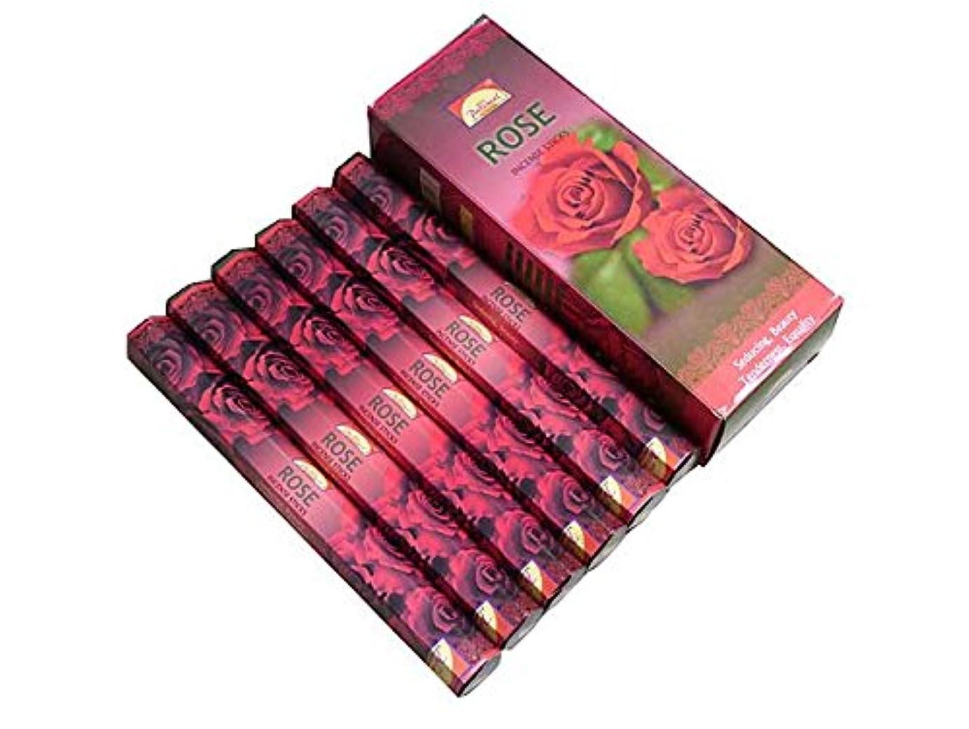 イブアライアンス人工的なPARIMAL(パリマル) ローズ香 スティック ROSE 6箱セット