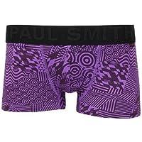 【Paul Smith】ポールスミス 「POP」イラスト切替デザインローライズボクサーパンツ 紫 size L