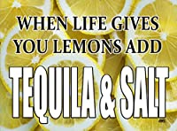 Funny When Life Gives You Lemons add Tequila and Salt キッチンガラスカッティングボード お母さんへの装飾ギフト