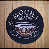 ブリキ看板 コーヒー coffee アメリカン雑貨 アンティーク レトロ プレート インテリア ガレー 店舗 ヴィンテージ風 カフェ バー