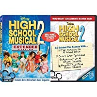 High School Musical 2 - Extended Edition With Exclusive Walmart Behind-the-Scenes Bonus DVD [並行輸入品]