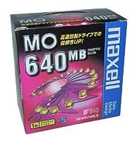 maxell 640MB MOディスク 5枚パック MA-M640.B1P5