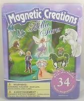磁気Creations Playset–34磁気Pieces–Bella Sara–旅行ゲーム( bt68)