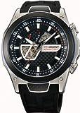 [オリエント時計] 腕時計 WV0021DA ブラック