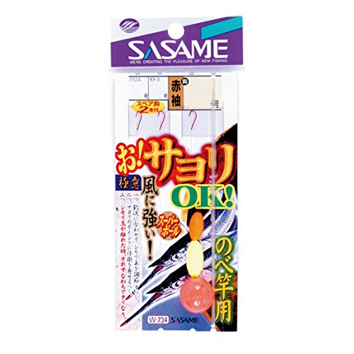 【SASAME/ササメ】お!サヨリOKのべ竿用 W-734 3号 / 506037