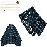 mikihouse(ミキハウス) 授乳ケープ グリーン 46-8200-734(自宅用) 日本製 出産祝い 高級今治タオル付き imabari towel