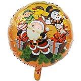 Vi.yo クリスマス アルミバルーン 風船 サンタクロース かわいい クリスマス パーティー飾り 雰囲気