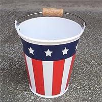 USA BUKET S  星条旗 アメリカ アメリカン雑貨 アメリカ雑貨 アメ雑