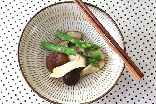 美濃民芸 5.5寸浅鉢 煮物鉢 中鉢 刺身鉢 お浸し 和食 和モダン 国産 和食器 美濃焼