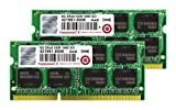 Transcend MacBook Pro & Mac mini 対応メモリ PC3-12800 DDR3 1600 16GB (8GB×2) 1.5V 204pin SO-DIMM (無期限保証) TS16GJMA424H