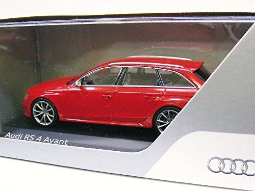 AUDI特注 1/43 アウディ RS4 アバント 2012 (レッド)