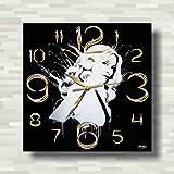 Madonna 11'' 壁時計(マドンナ)あなたの友人のための最高の贈り物。あなたの家のためのオリジナルデザイン