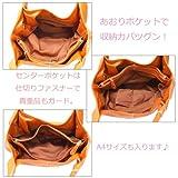 バルーンバッグ A4サイズ トート R104 神戸バッグマニア画像③