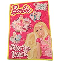 Barbie Follow Your Dreams Colouring and Activity Book with Over 1000Stickers (2014)