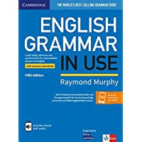 English Grammar in Use Book with Answers and eBook and Augmented App Klett Edition: Self-Study Reference and Practice Book for Intermediate Learners of English