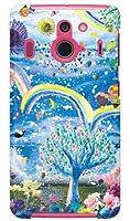 [Disney Mobile on docomo F-03F/docomo専用] スマートフォンケース monikotoデザインシリーズ 祝福の花園 DFJF3F-ABWH-103-SBB6