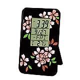 蒔絵カードクロック 桜 / 置き時計