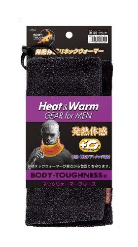 おたふく手袋 ボディータフネス 発熱・保温 テックサーモ ネックウォーマー ブラック JW-120