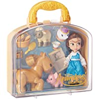 Disney Animators' Collection Belle Mini Doll Play Set - 5 Inch 460703383761