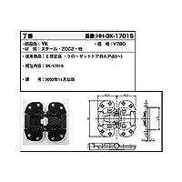 YKKAP メンテナンス部品 丁番 (HH3K-17015) [YK]ブラック *製品色・形状等仕様変更になる場合があります*