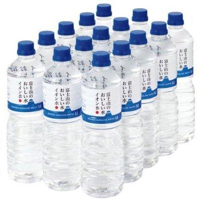 富士山のおいしい水イオン水 1000ml×15本  【防災備蓄・5年保存】