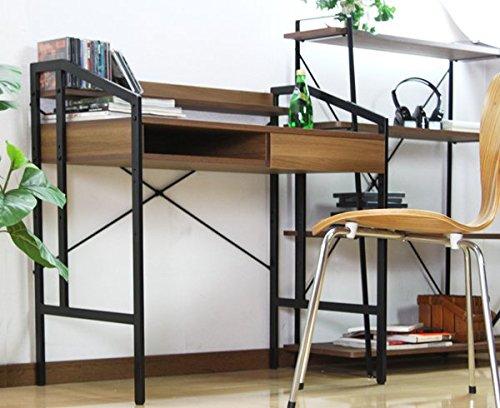 【サンニード】木製パーソナルデスク WDK-8050 高さ調節 幅82.5cm E-S1