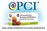 プレミアム互換機Inc。42918904-pci交換用インクとOkidataプリンタ用トナーカートリッジ、ブラック