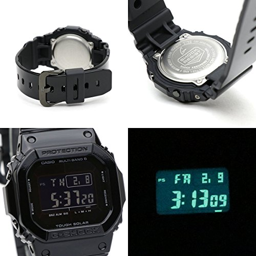 94b971c959 カシオ ジーショック 腕時計 GW-M5610BB-1 電波ソーラー スクエア 四角 デジタル 5600 スピードモデル 防水 軽量 薄型 メンズ [ 並行輸入品] ブラック