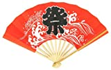 日本の伝統 手作り 白竹 祭り 扇子