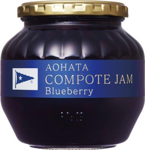 『アヲハタ COMPOTE JAM Blueberry 450g』のトップ画像