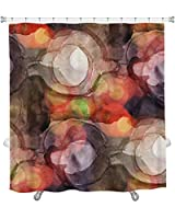 """Gear New Sunlight Purple Cubism Abstract Art Picasso Water Shower Curtain, 74"""" X 71"""" [並行輸入品]"""