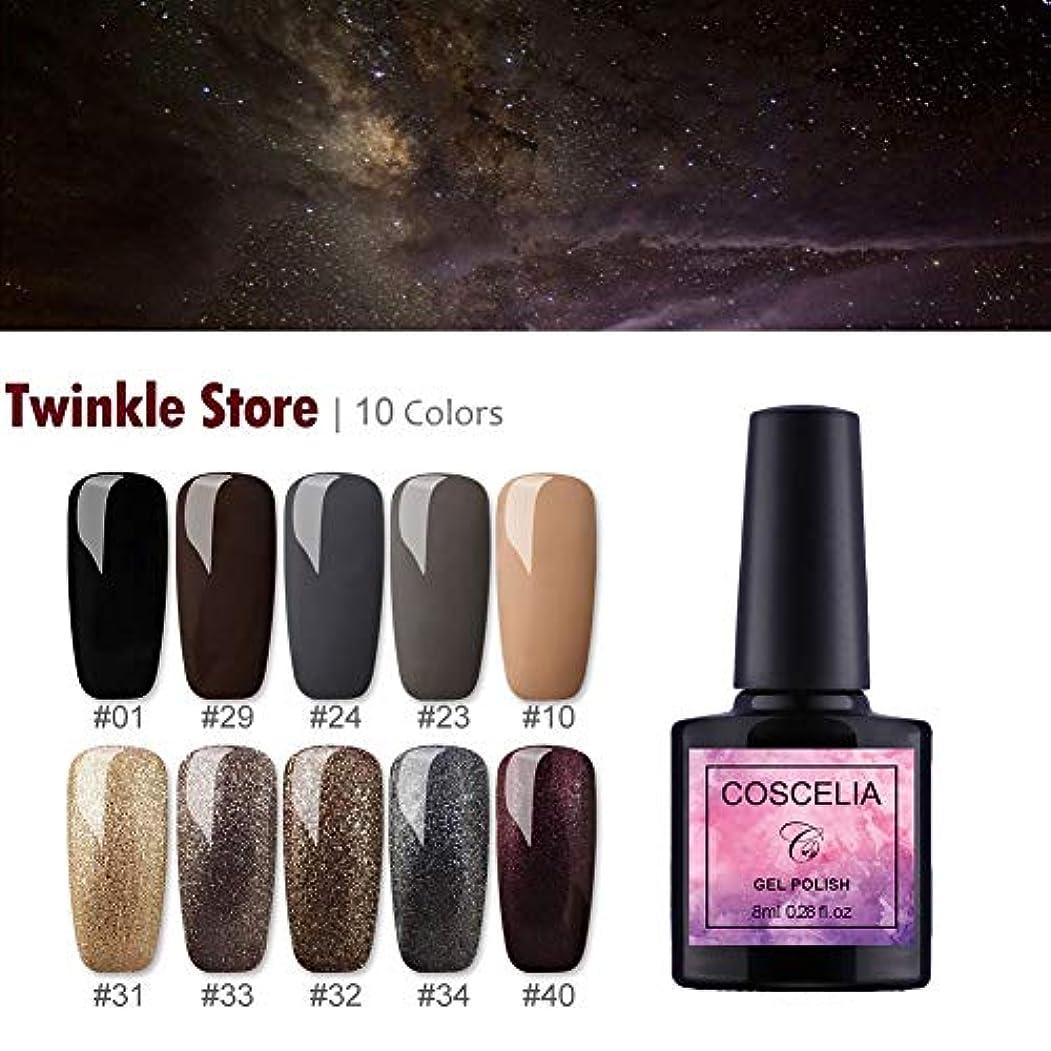 医学オゾン女王Twinkle Store 10色套装 8mlカラージェル UVジェルセット ネイルジェルキット ジェルネイルカラー UV/LED適用 ネイルアートジェルで簡単に DIY ネイルアートキット#3